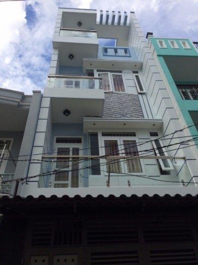Nhà 1084/59 Quang Trung, Phường 8, Gò Vấp, HXH 5m, 4 x 16m, 1 trệt+ 3 lầu, 6PN, 6WC, Tây Nam