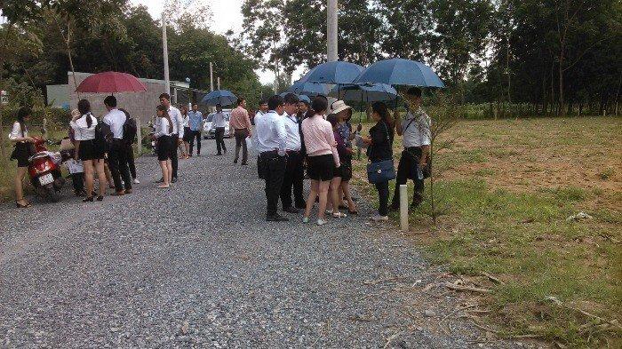 Đất bán thu hồi vốn tặng lại khách hàng lên đến 1 cây vàng.tại kp thạnh lộc ,p An Thạnh,TX Thuận An,Bình Dương.