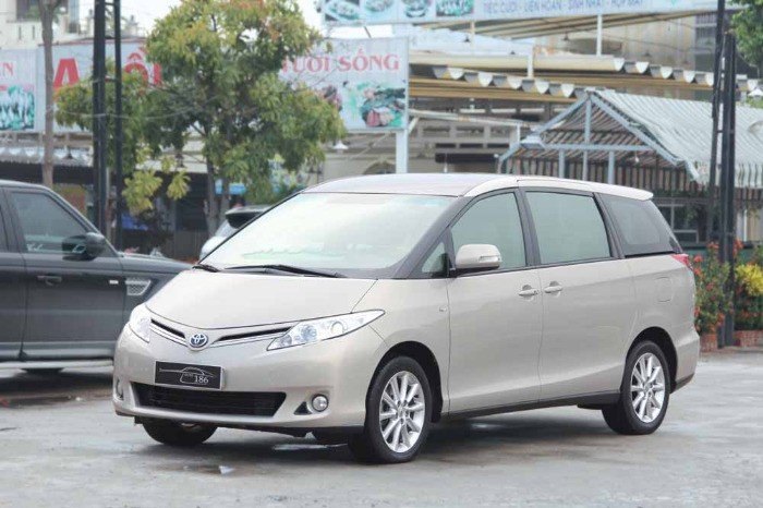 Toyota Previa 2.4L GL model 2010 màu xà cừ