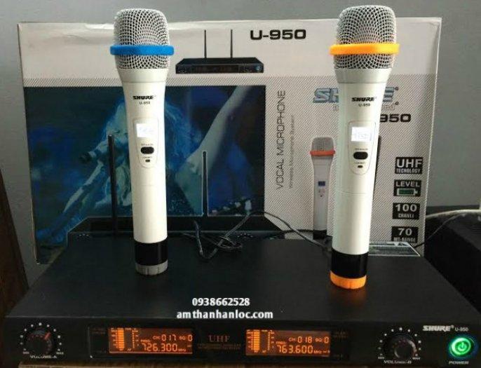 Micro không dây karaoke shure u9500