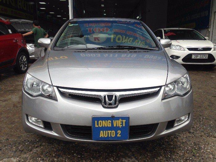 Bán Honda Civic 2.0AT màu xám bạc , số tự động , tên tư nhân chính chủ .