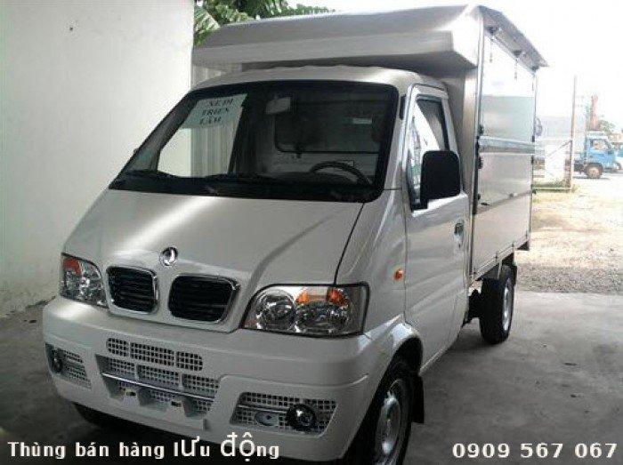 Xe bán hàng lưu động Dongben máy Suzuki chuyên bán hàng hoa quả vùng baria 0