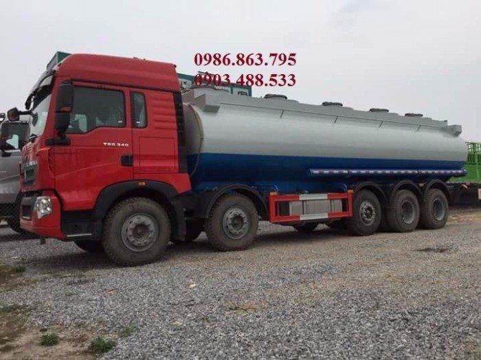 Xe xăng dầu howo 5 chân 26 khối 1