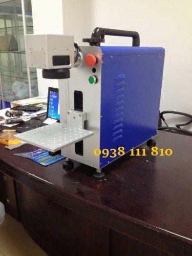 Máy laser fiber , máy laser khắc kim loại, máy khắc logo nhãn mác