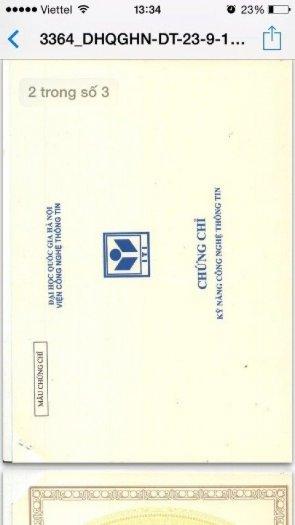 Tiếp nhận hồ sơ thi chứng chỉ Tiếng Anh A2 và tin học cơ bản