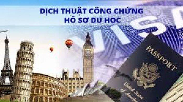 Mời liên hệ Hồng Linh Dịch vụ dịch Hồ sơ Visa, Du học Giá Tốt