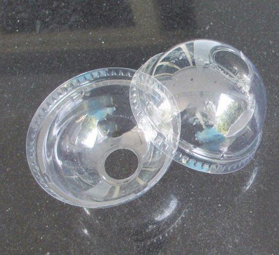 Các sp ly nhựa nắp cầu,nắp bằng giá sỉ đặc biệt còn in logo trực tiếp trên ly, 3