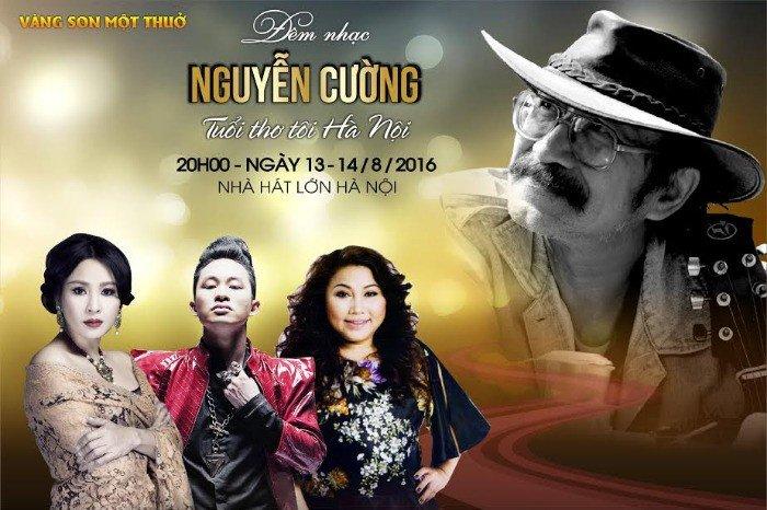 Vé Liveshow Nguyễn Cường: Tuổi Thơ Tôi Hà Nội 13-14/8/2016