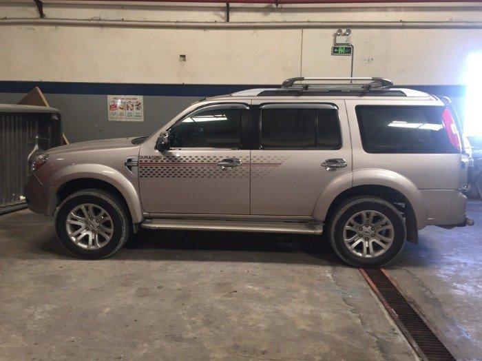 Ford Everest MT 2k14, màu ghi vàng, full đồ chơi
