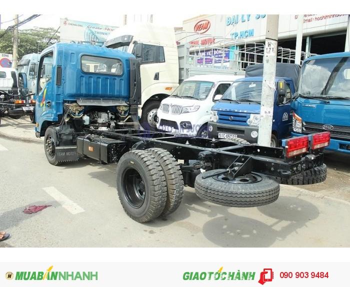 Xe tải Veam VT252 tải trọng 2.4 tấn