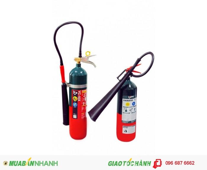 Bình chữa cháy khí C02 4.6kg