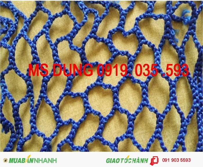 Lưới an toàn 2,5cm, 5cm, 10cm, lưới công trình các loại tại hà nội, 4