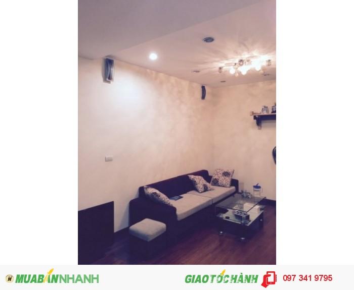 Cho thuê chung cư Rainbow Văn Quán full nội thất