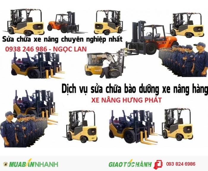 Hưng Phát chuyên  Sửa chữa bảo dưỡng xe nâng  toàn quốc