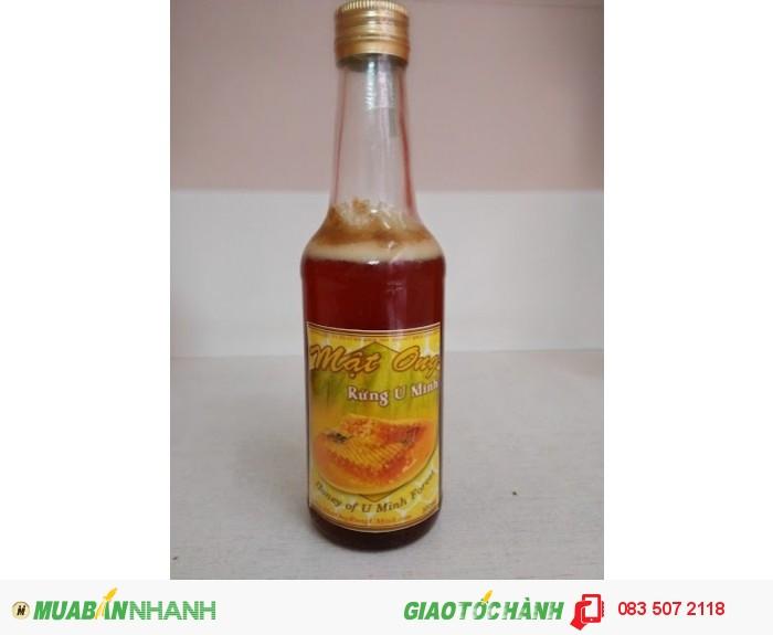 Mật ong rừng U Minh chai 300ml giá 140k0