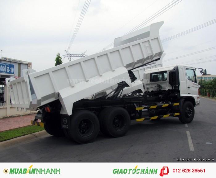 Bán xe tải tự đổ Hino FM8JNSA 10m3 có sẵn, giao ngay