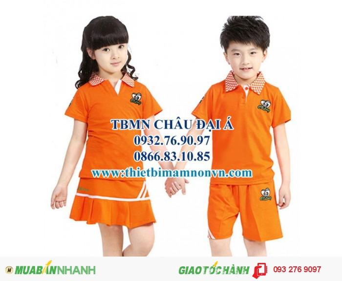 Đồng phục mầm non , đồng phục cho các bé siêu dễ thương3