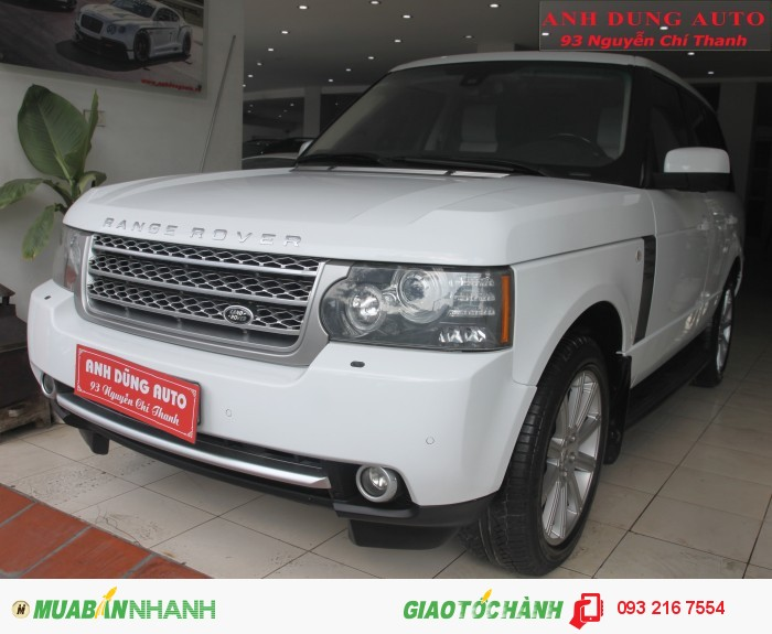 Land Rover Range Rover sản xuất năm 2009 Số tự động Động cơ Xăng