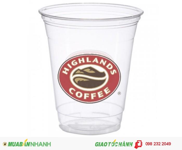 In ly nhựa coffee ,trà sữa ,take way cho hệ thống nhà hàng ,quán cafe ,quán ăn, 5