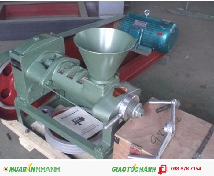 Máy ép dầu công nghiệp 6YL-68, máy ép dầu thực vật gia đình giá rẻ0