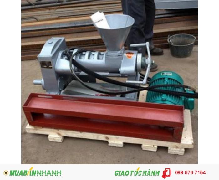 Máy ép dầu công nghiệp 6YL-68, máy ép dầu thực vật gia đình giá rẻ1