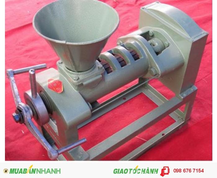 Máy ép dầu công nghiệp 6YL-68, máy ép dầu thực vật gia đình giá rẻ2