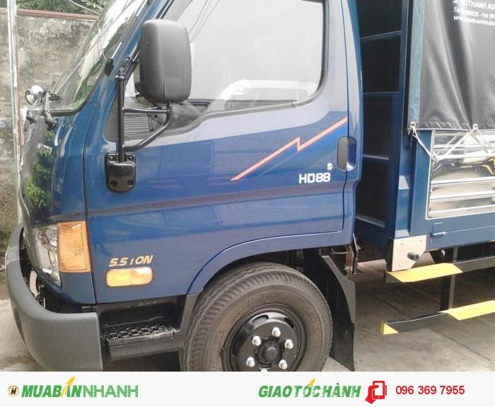Hyundai HD88 sản xuất năm 2016 Số tay (số sàn) Xe tải động cơ Dầu diesel