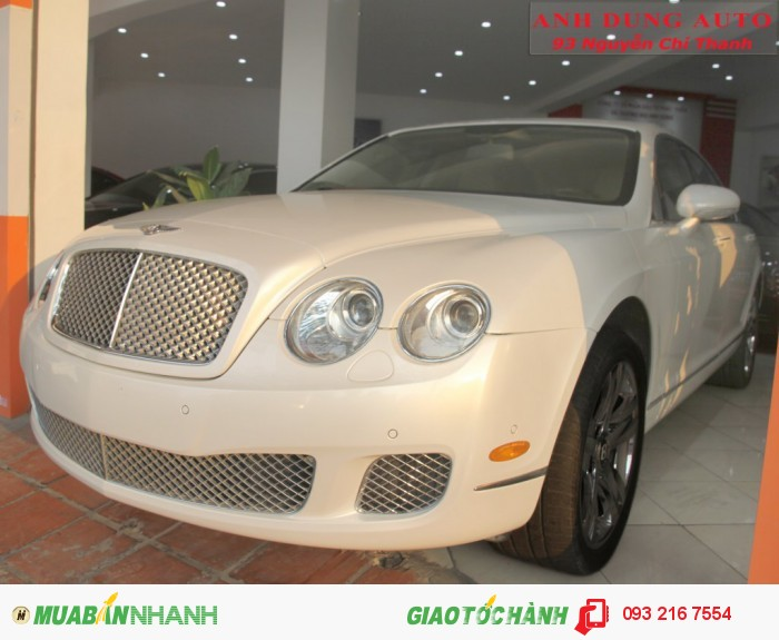Bentley Continental sản xuất năm 2009 Số tự động Động cơ Xăng