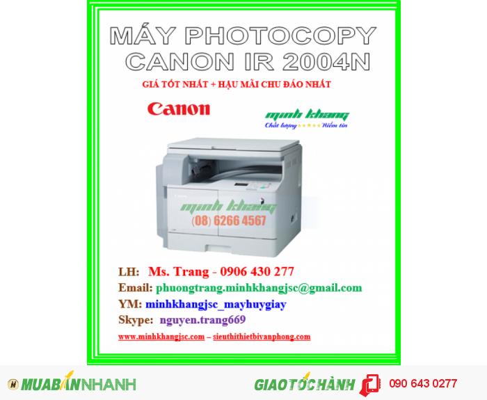 may photocopy canon ir 2004n3
