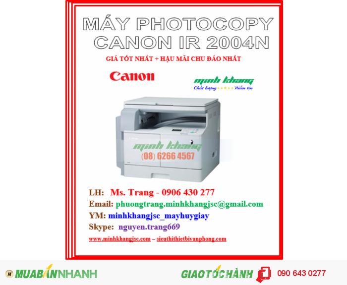 may photocopy canon 2004n4