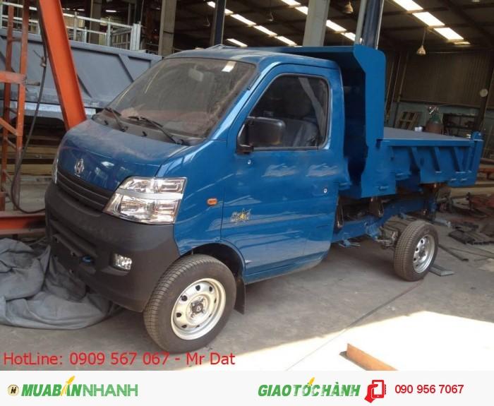 Xe ben Veam star 750kg, xe nhỏ gọn máy Đài Loan chất lượng giá tốt trong phân khúc