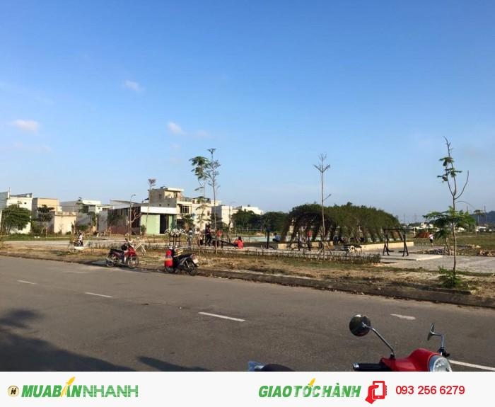 Bán lô góc 2 mặt tiền phường Hòa Minh, giá 1.25 tỷ