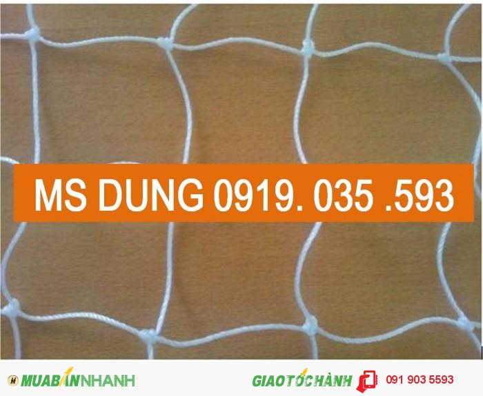 Lưới an toàn nhựa trắng mắt 10cm