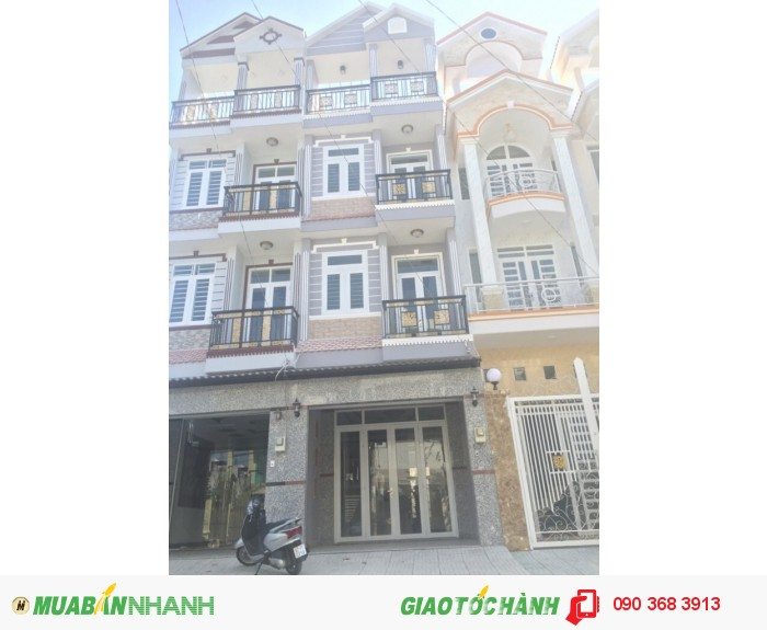 Nhà 3 tầng, 3.2x13m, Hẻm 7m ở Huỳnh Tấn Phát