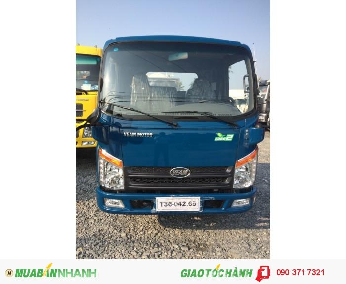 Bán xe tải Veam VT200-1 tải trọng 1T99 kính điện thùng dài giá rẻ động cơ Hyundai