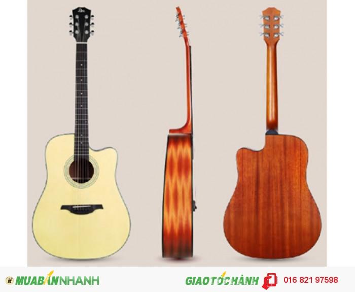 Đàn Guitar Acoustic REX RD1C-NM
