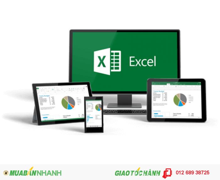 Lớp Excel cấp tốc cho người đi làm (3 buổi)