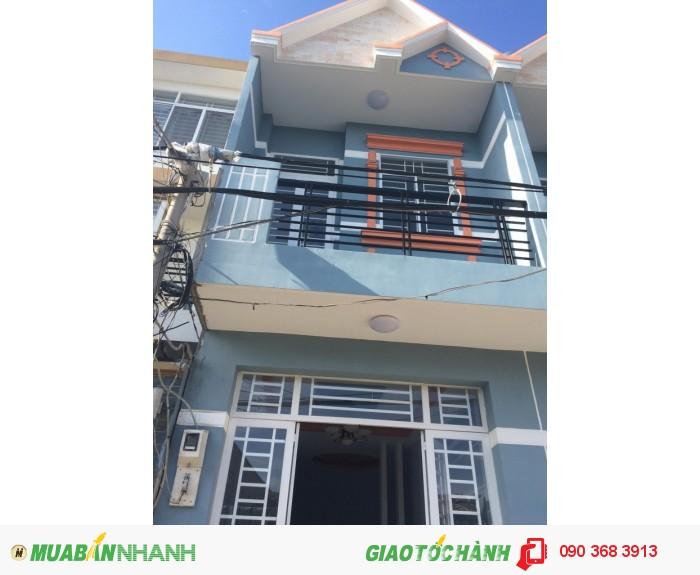 Nhà mới giá rẻ 3.4x9m SHR ở Lê Văn Lương