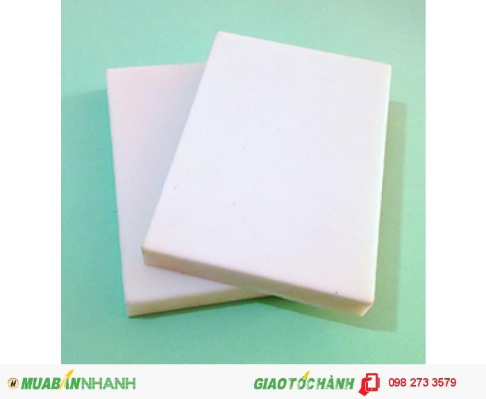 Nhựa POM loại màu trắng4
