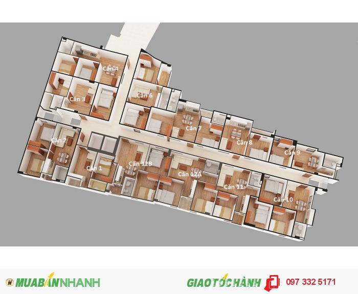 Chung cư mini Hoàng Đạo Thành giá chỉ từ 600tr/căn, 35m2 -47m2– 52m2 - 57m2, ở ngay.