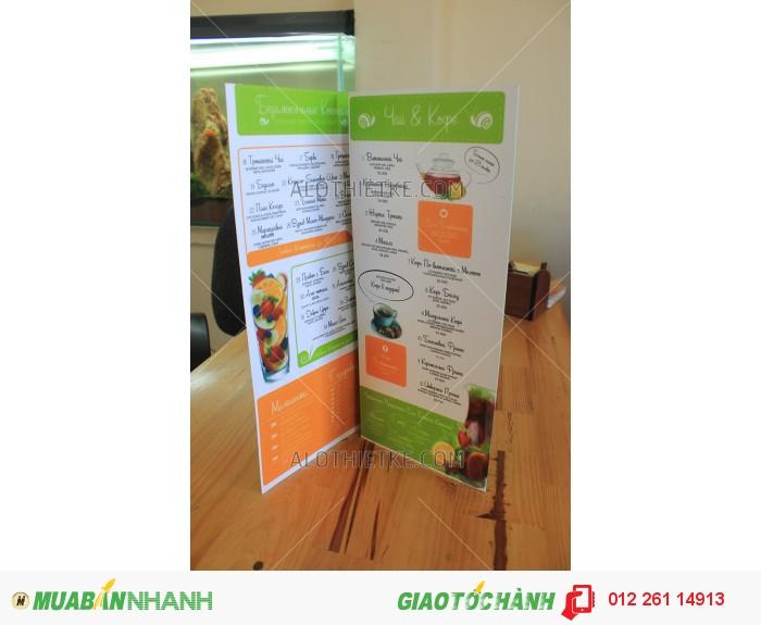 Thiết kế menu tại phan thiết