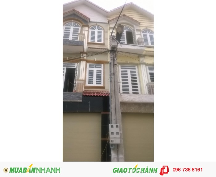 Cần bán nhà 2 lầu đẹp mới xây mặt tiền đường Lê VănTiên