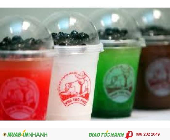 Cung cấp ly nhựa giá rẻ in logo theo tên quán nhiều màu chất lượng