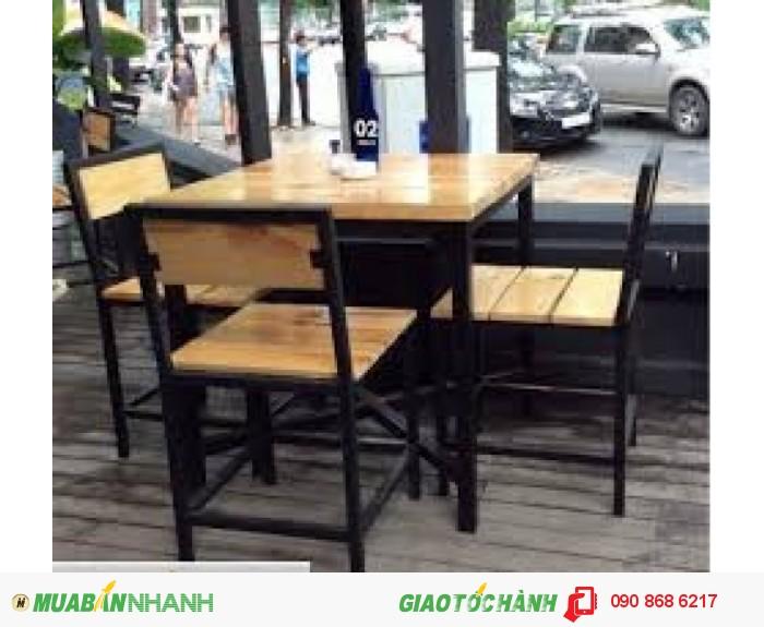 Bàn ghế quán ăn giá rẻ2