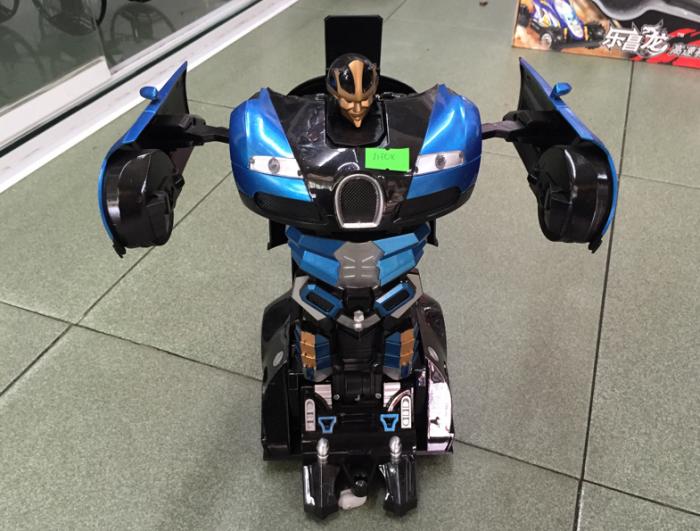 Robot biến hình Siêu Xe Bugatti Veyron