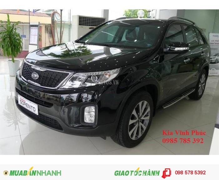 Bán xe Kia New Sorento mới 100% đời 2017 giá tốt tại Vĩnh Phúc, Phú Thọ 0