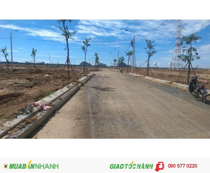Đất Nam Hòa Xuân 570 triệu/105m2 gần trường học, sát bờ sông, CK 8%.
