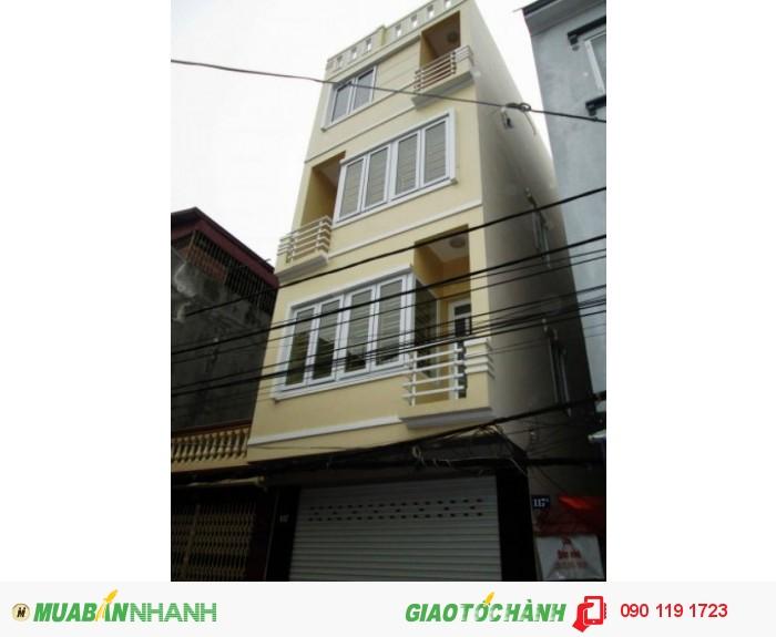 Nhà mới1 trệt, 3 lầu,4PN, chợ Thủ Đức.Diện tích 250m2.NTCC
