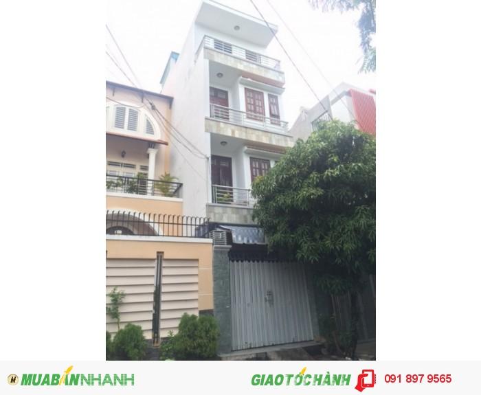 Bán nhà trệt 3 lầu sân thượng mái ngối đẹp mặt tiền đường số 47 phường tân quy quận 7.