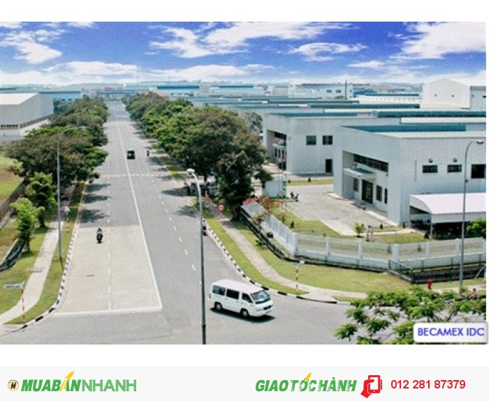 Becamex bd mỡ bán đất nền tại khu đô thị mới bình dương
